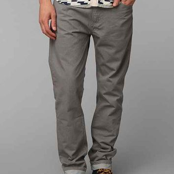 Levi's 508 Pewter Slim-Fit Pant- Grey