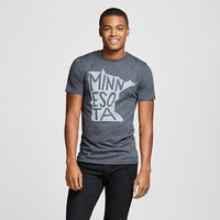 Minneapolis Local Pride by Todd Snyder Men's Short Sleeve T-Shirt Minnesota State - Charcoal Heather