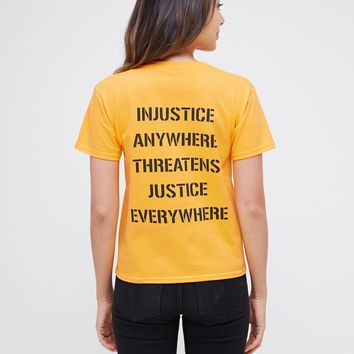 Civil Disobedience Shrunken Tee