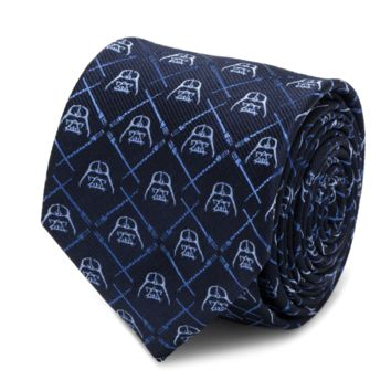 Darth Vader Lightsaber Blue Tie BY STAR WARS