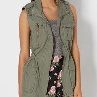 Cargo Pocket Anorak Vest | Vests | rue21
