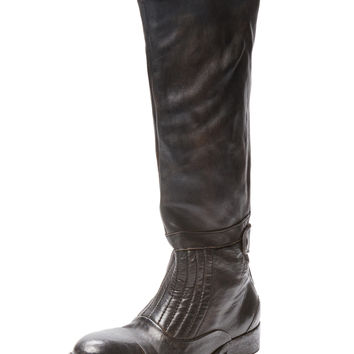 Free People Women's Lancaster Leather Boot - Black -