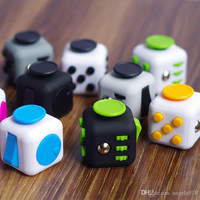 2017 New Fidget cube camouflage fidget spinner the world's first American decompression anxiety Toys DHL shipping E1674