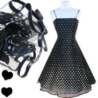Black Polka Dot Party FULL SKIRT Rockabilly Dress S M Prom TULLE Pinup Cocktail Black Polka Dot Party FULL SKIRT Rockabilly Dress S M Prom TULLE Pinup Cocktail - eBay (item 300665177347 end time Mar-16-12 20:38:18 PDT)