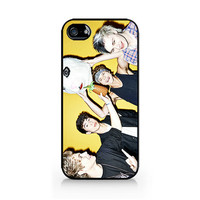 IPC-254 - Ivory Phone Case - 5SOS - 5 Seconds of Summer - iPhone 4 / 4S / 5 / 5C / 5S / Samsung Galaxy S3 / S4