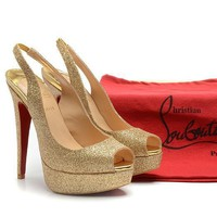 CL Christian Louboutin Fashion Heels Shoes-130