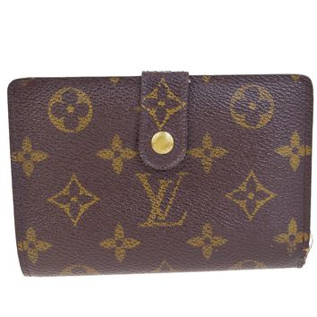 Auth LOUIS VUITTON Viennois Bifold Wallet Purse Monogram Leather M61663 01Q205