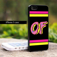 Odd Future OFWGKTA Doughnut Wolf Gang Donut Design for iPhone 5 case