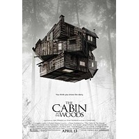 The Cabin in the Woods 27x40 Movie Poster (2012)