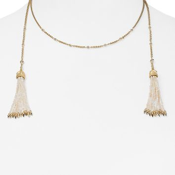 Kendra ScottMonique Tassel Choker Necklace, 15""