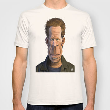 Celebrity Sunday ~ Tom Waits T-shirt by Rob Snow