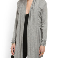 Criss Cross Ruched Sweater - Women - T.J.Maxx
