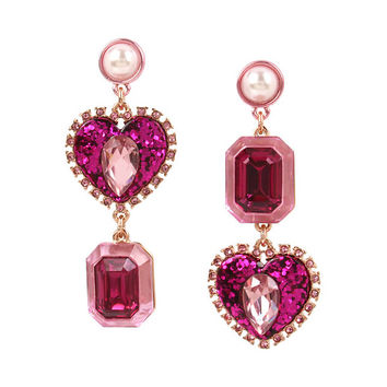 NOT YOUR BABE STONE EARRINGS: Betsey Johnson