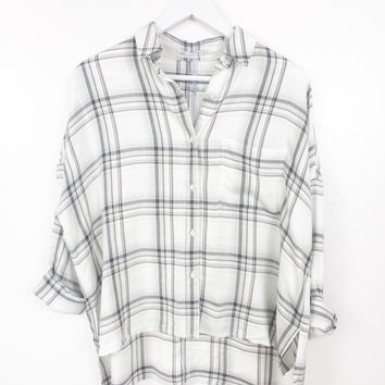 Tempt Button Up Blouse