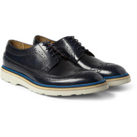 Paul Smith Shoes & Accessories - Contrast-Sole Leather Longwing Brogues   MR PORTER