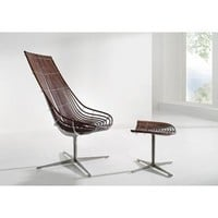 Spline by Schutz  Lounge chair and Stool - Seating: Chair - Modenus Catalog