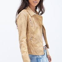 Convertible Moto Jacket | Forever 21 - 2000087289