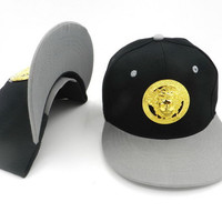Perfect Versace Women Men Embroidery Sports Sun Hat Baseball Cap Hat