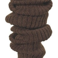 Leg Warmers: Fluffy Slouchy, Loose Knit Ankle To Thigh High Legwarmers by KD dance New York