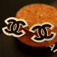 Chanel's new female hipster diamond earrings
