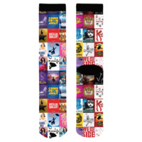 Broadway Show Art Socks