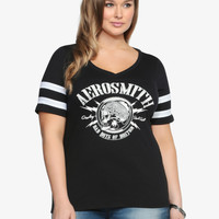 Aerosmith Football Tee