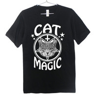 Cat Magic Occult T-Shirt (ATTN: notate SIZE during checkout)
