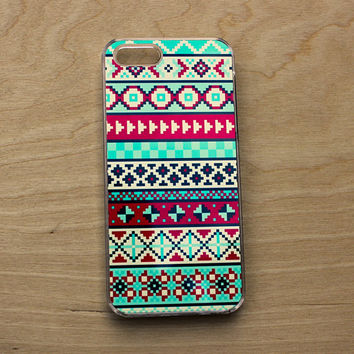 iPhone 6 Case Aztec Print - iPhone Case Geometric Aztec - iPhone 6 Case Tribal - iPhone 5C Case Geometric Tribal - iPhone 6 Case Colorful