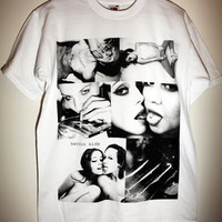 90s / Grunge / Chic Unisex Heroin Kids T-Shirt Sex & Drugs nude girl erotic porn cocaine weed icon model redlight