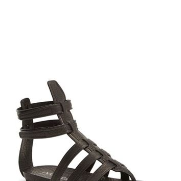 "Women's Pedro Garcia 'Virtue' Leather Gladiator Sandal, 1"" heel"