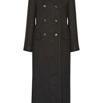 Theory - Jonmik wool-blend gabardine coat
