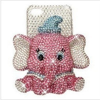 Cute Elephant iPhone case 4/4S case iPhone 5 by Clairehandmade