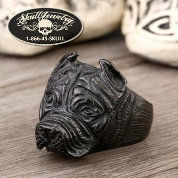 Black Pitbull Ring (238)