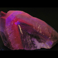 "Phantom Calcite Crystal ""Crystal in Crystal"" Rock Fluorescent Glow Stone"