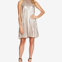 1.STATE Metallic Swing Dress - Metallic Dress - SLP - Macy's