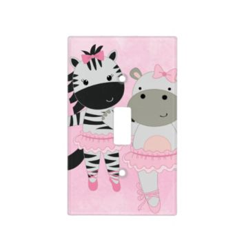 Tutu Cute Animal Ballet Light Switch Cover
