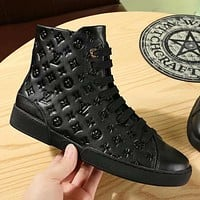 LV Louis Vuitton Women Fashion High-Top Old Skool Shoes