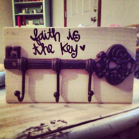 faith is the key- key rack