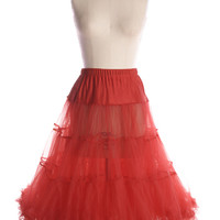Volume Up Crinoline in Red - $64.95 : Indie, Retro, Party, Vintage, Plus Size, Convertible, Cocktail Dresses in Canada
