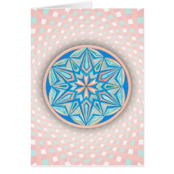Star M Code Sacred Geometry Card