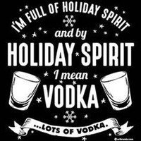HOLIDAY SPIRIT vodka  hoodie christmas gift hooded cool sweatshirts hoodies hoody