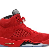 "AIR JORDAN 5 RETRO ""RED SUEDE""BASKETBALL SNEAKER"