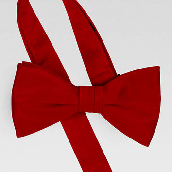 Pronto Uomo Couture Red Pre-Tied Bow Tie - Formal Ties | Men's Wearhouse