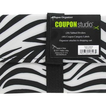 Small Zebra Coupon Organizer | Shop Hobby Lobby