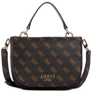 GUESS Logo Rock Mini Crossbody & Reviews - Handbags & Accessories - Macy's