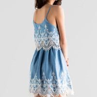 Makenna Embroidered Dress