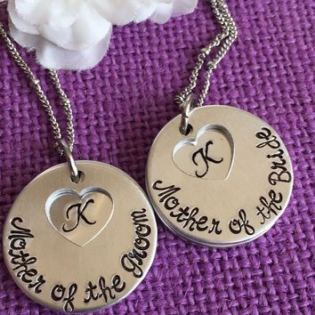Mother of the Bride Gift - Mother of the Groom Gift - Wedding Party - Wedding Gift - Mother in law necklace - Mother in law jewelry - Gift