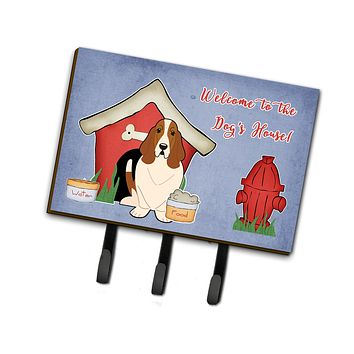 Dog House Collection Basset Hound Leash or Key Holder BB2775TH68