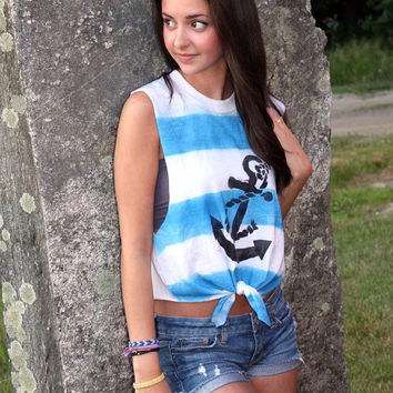 Nautical Anchor Tank