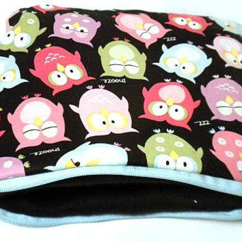 Owl Kindle Case Nook Case sleeve Owl kindle 3 by redmorningstudios